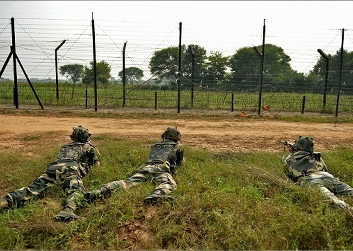 Peace along International Border with Pak since Jan 23-24: