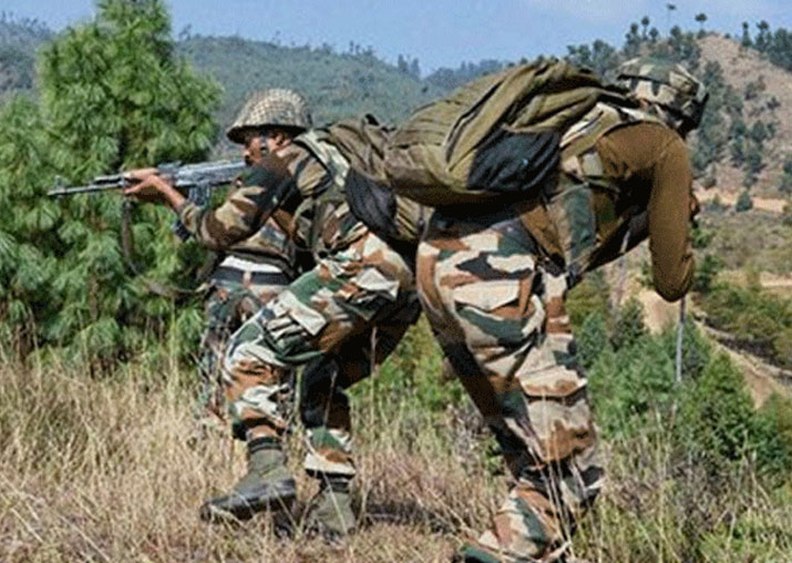 Pak army shells LoC areas in J&K's Rajouri district