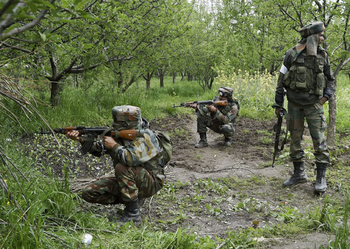 Representational pic - Terrorists attack CRPF camp in J&K's