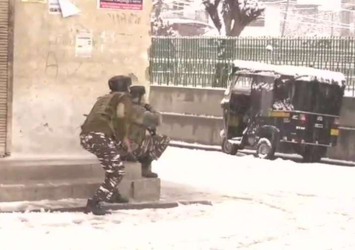 Terrorist attack on Srinagar CRPF camp: One soldier