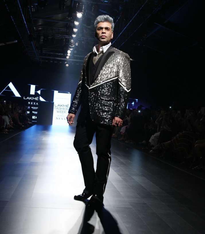 India Tv - Karan Johar at LFW