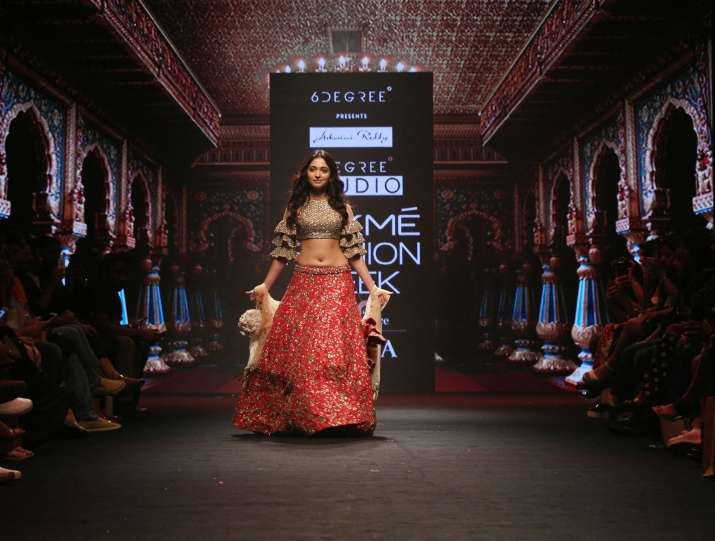 India Tv - Lakme Fashion Week 2018