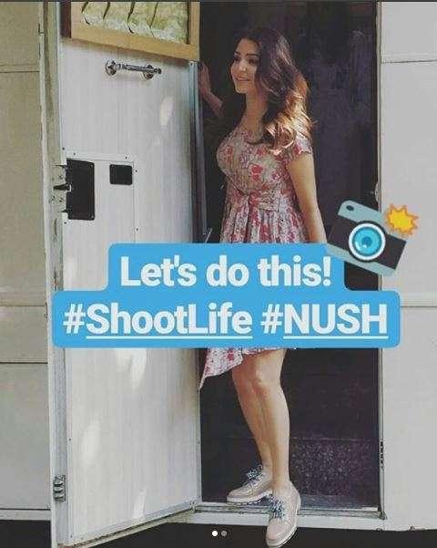 India Tv - Anushka Sharma shooting for Nush ad campaign