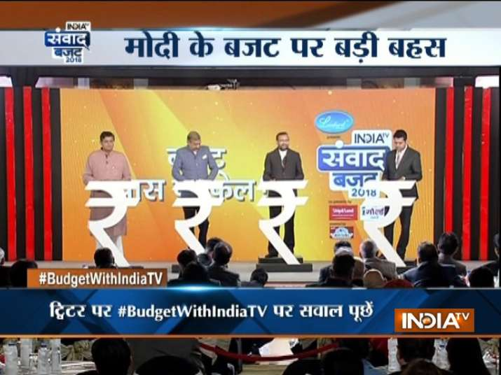 India TV Budget Samvaad: BJP did justice to farmers what