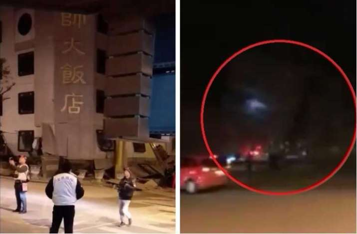 Taiwan hotel caves in after 6.4 magnitude earthquake,