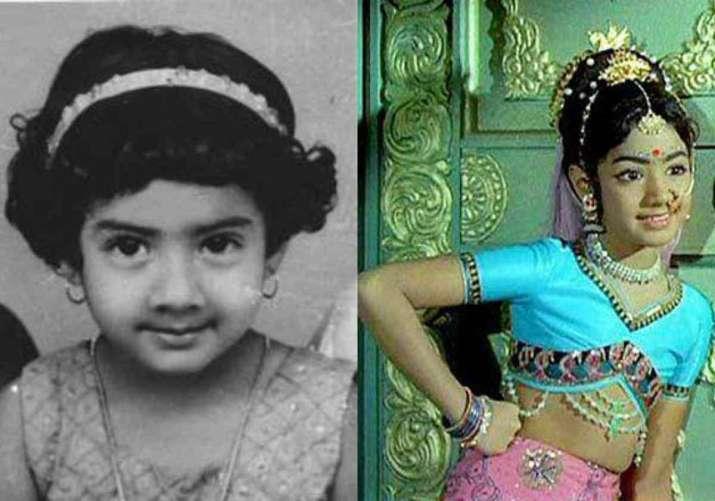 India Tv - Sridevi childhood