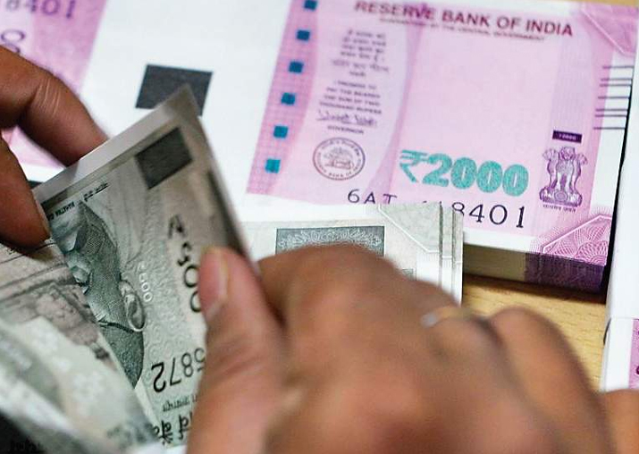 India's April-January fiscal deficit at 113.7% of full