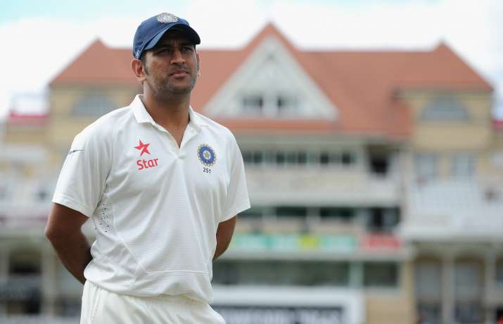 India Tv - A file image of MS Dhoni during a Test match