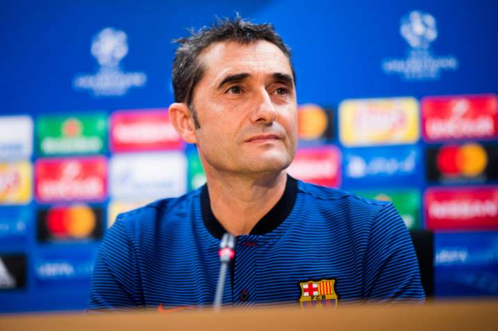 India Tv - Barca coach has admired the Frenchman's performances.