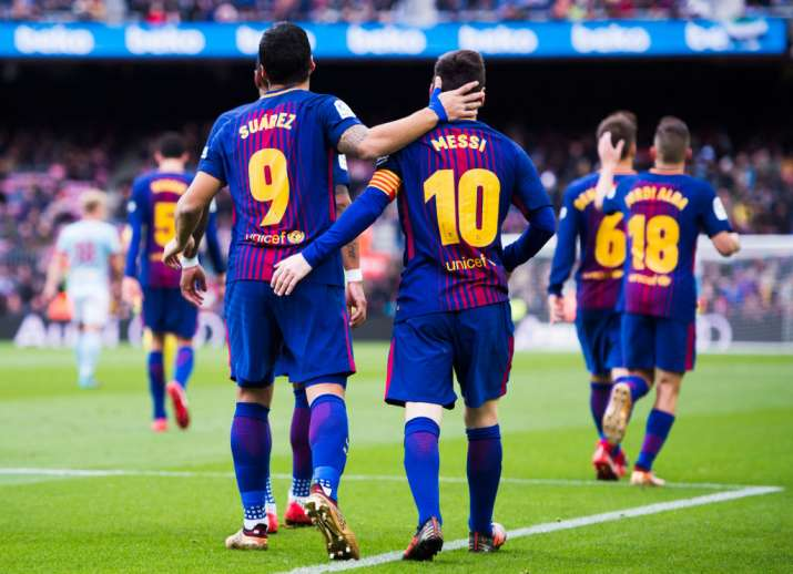 India Tv - Luis Suarez and Lionel Messi have been the first names this the beginning of the season.