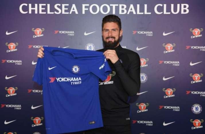 India Tv - Olivier Giroud sign for Chelsea FC
