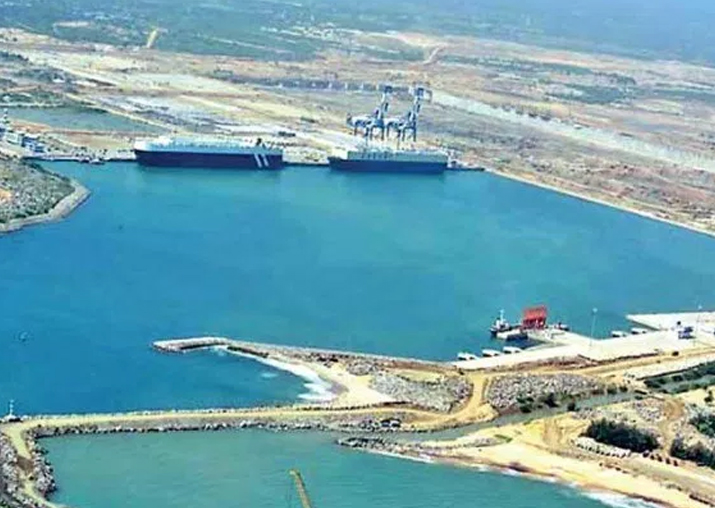 Hambantota port won't be used as military base: Lankan
