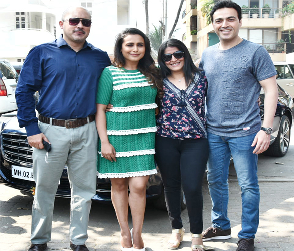 India Tv - Rani Mukerji at Hichki's song launch