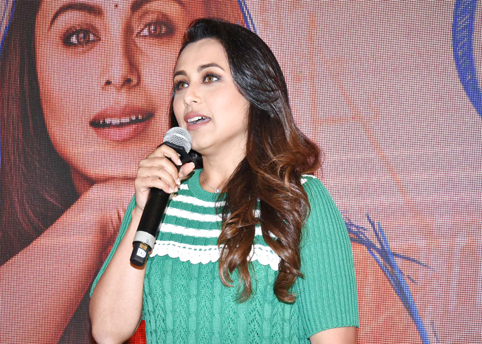 Rani Mukerji at Hichki's song launch