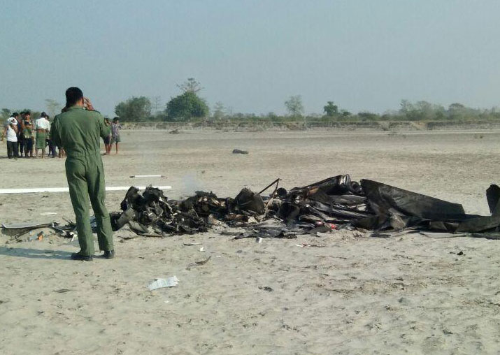 Two IAF pilots killed after chopper crashes near Jorhat in