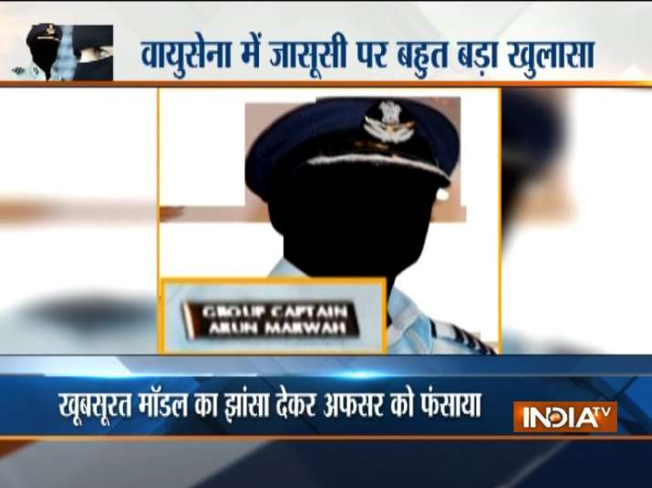 'Honeytrapped' Air Force officer arrested on charges of