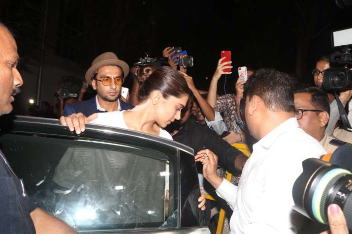 India Tv - Deepika with Ranveer