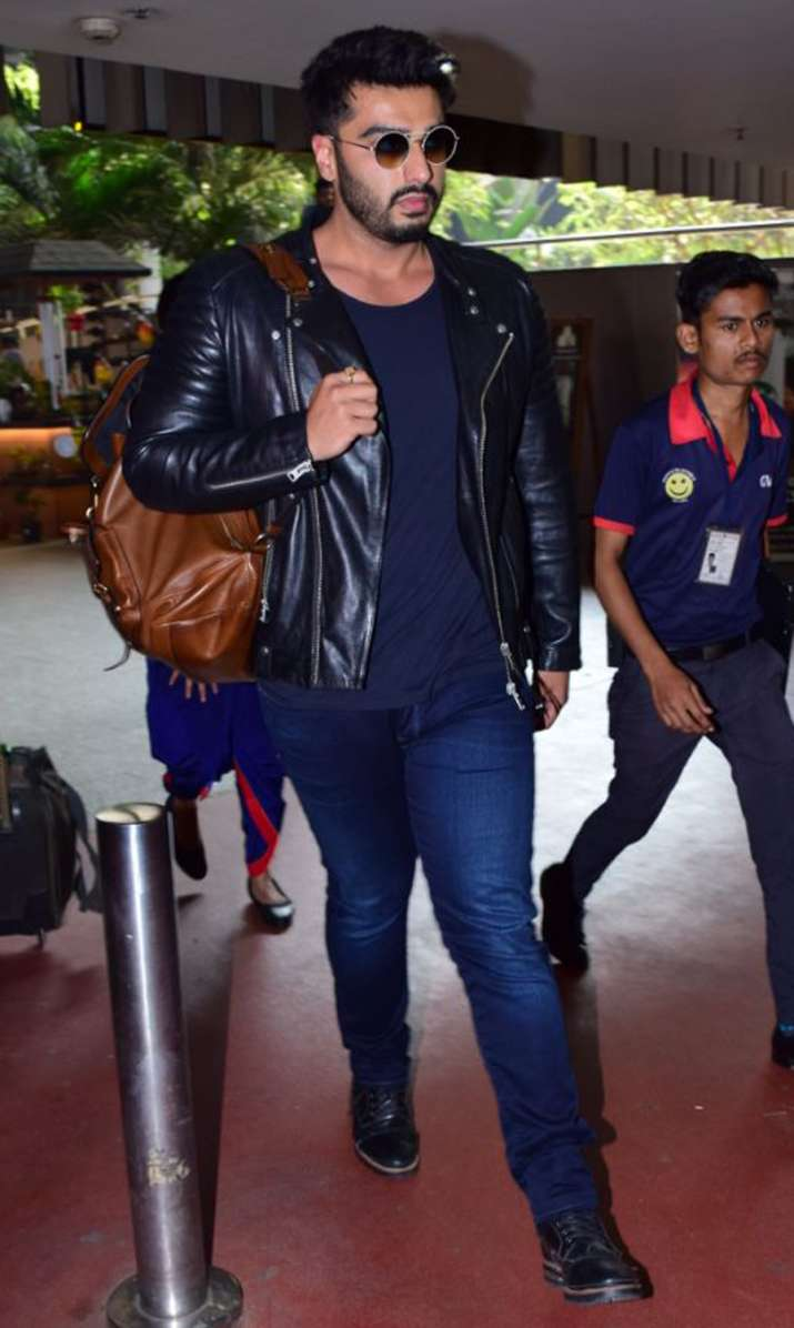 India Tv - Arjun Kapoor at Mumbai airport