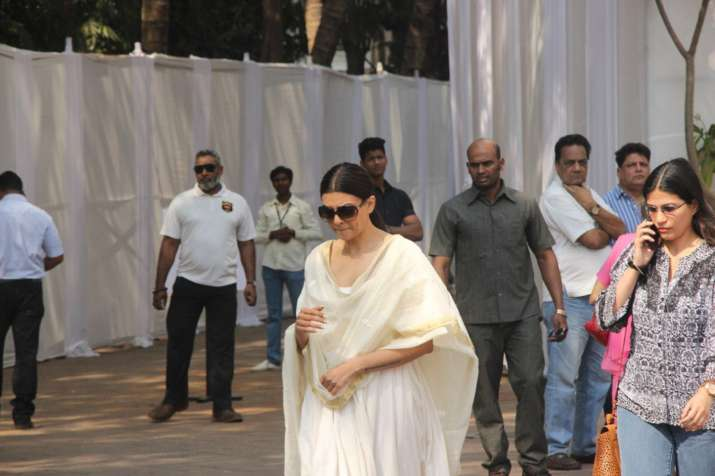 India Tv - Sushmita Sen at Celebrations Sports Club