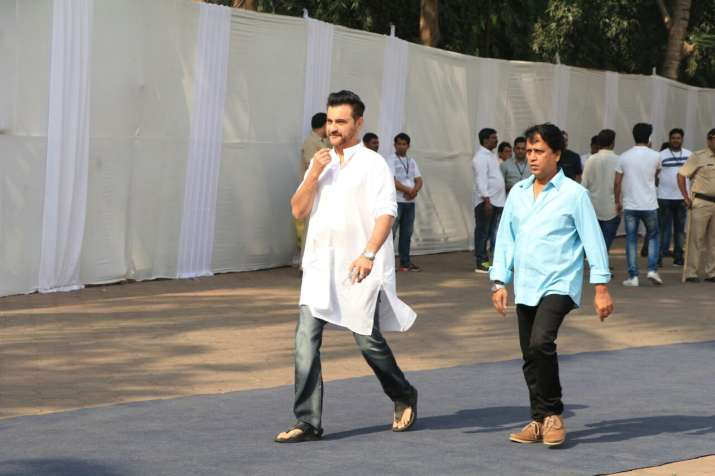 India Tv - Sanjay Kapoor at Celebrations Sports Club