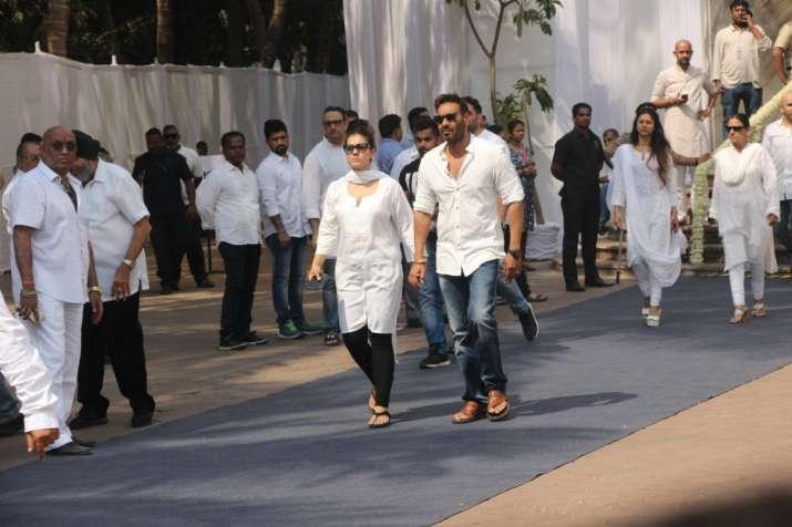India Tv - Ajay Devgn and Kajol