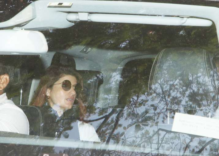 India Tv - Twinkle Khanna at Anil Kapoor's residence