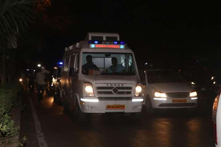 India Tv - Sridevi's mortal remains