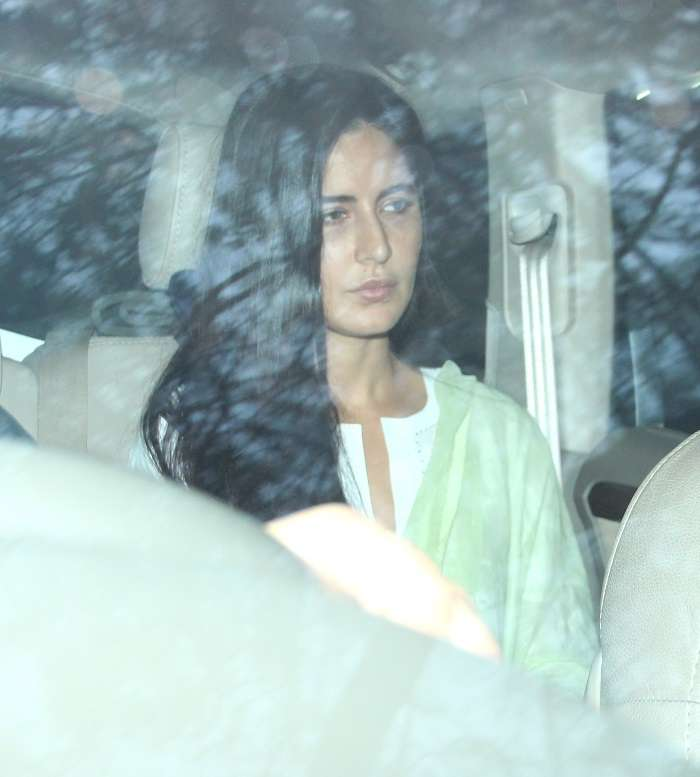 India Tv - Katrina Kaif at Anil Kapoor's residence