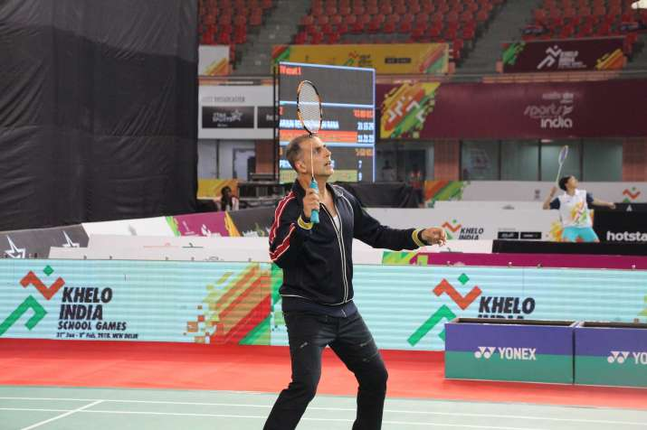 India Tv - Akshay Kumar took part in inaugural edition of the Khelo India Games