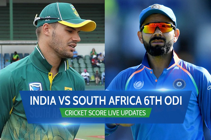 6th Odi India Vs South Africa Live Streaming Watch Ind Vs Sa Cricket Score Online And On Tv Cricket News India Tv