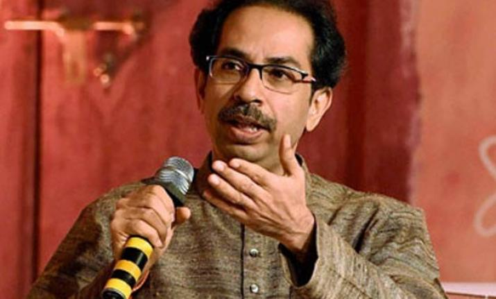 File photo of Shiv Sena chief Uddhav Thackeray.