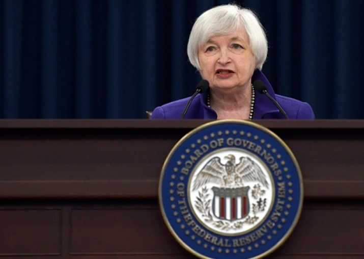 File pic of Janet Yellen