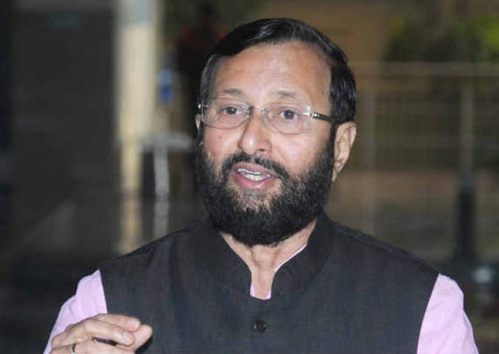 File pic of Prakash Javadekar