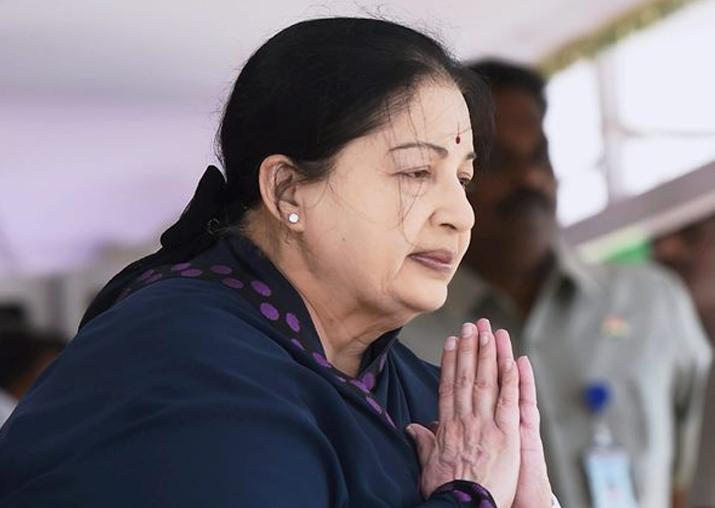 jayalalitha political history
