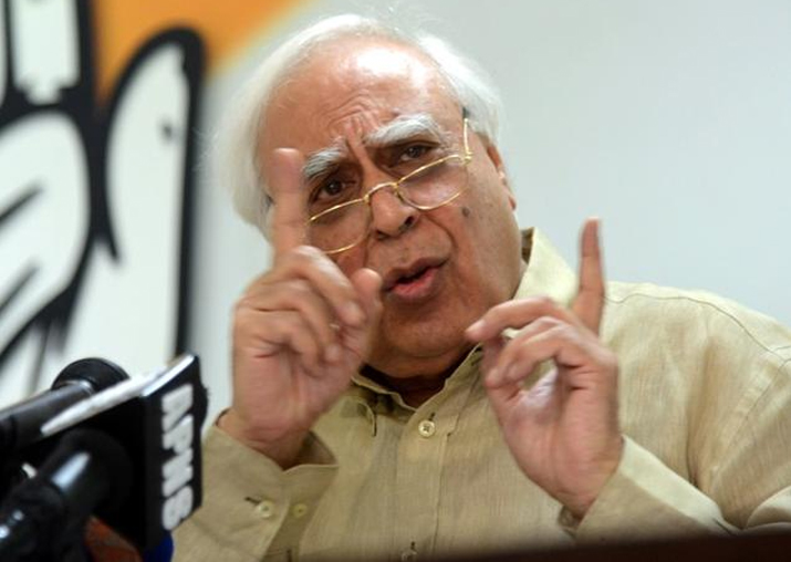 File pic of Kapil Sibal
