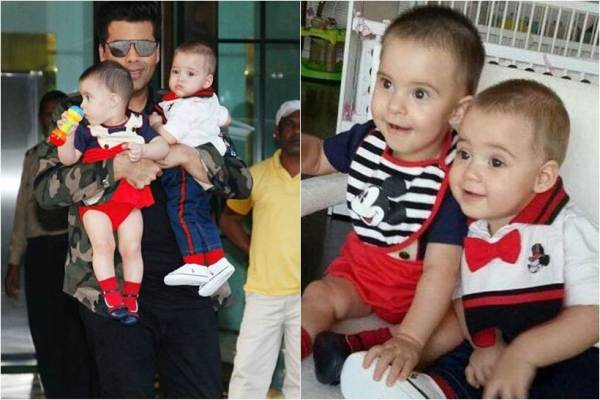 Here's how Karan Johar wished twins Yash and Roohi on their