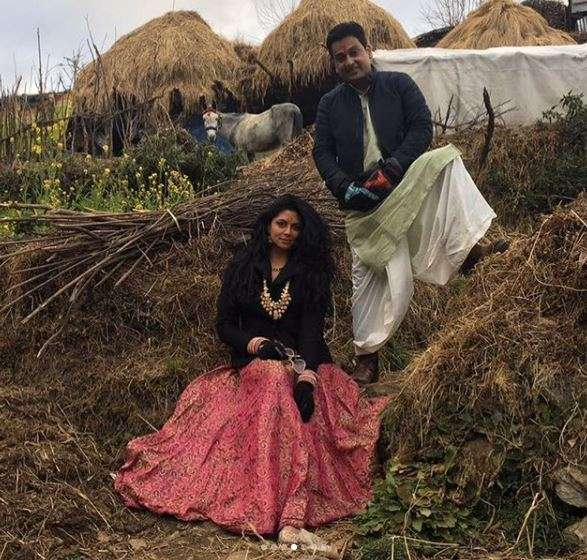 India Tv - Kavita Kaushik's first wedding anniversary celebration