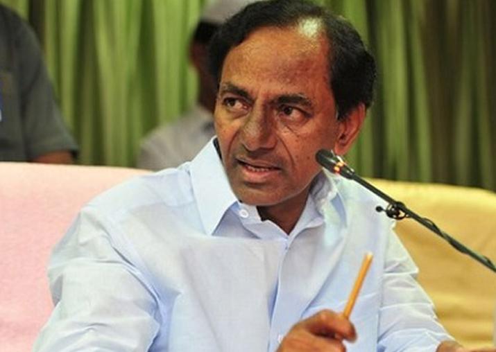 File pic of Telangana Chief Minister K Chandrashekhar Rao