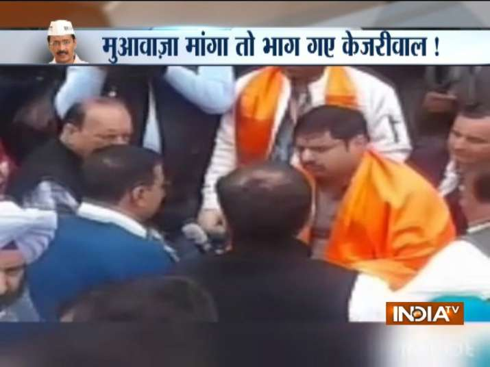 Ankit Saxena case: Delhi CM Kejriwal leaves prayer meet