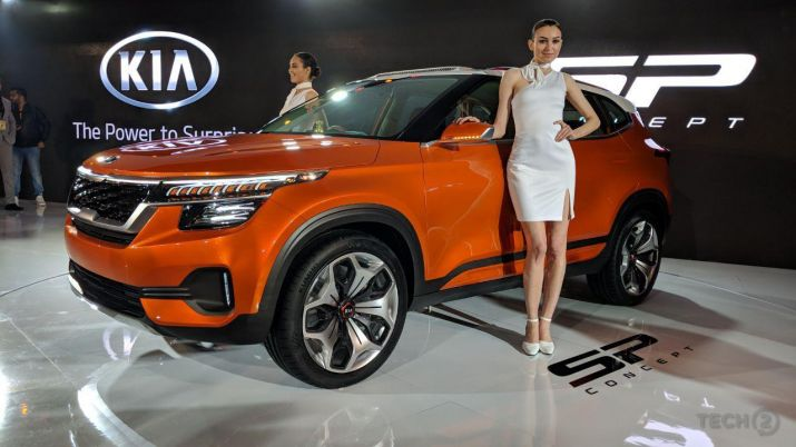 Auto Expo 2016 Launches Updates News Images: Auto Expo 2018: Kia Motors Debuts In India To Launch