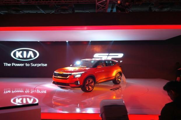 India Tv - Kia Motors India makes its India debut