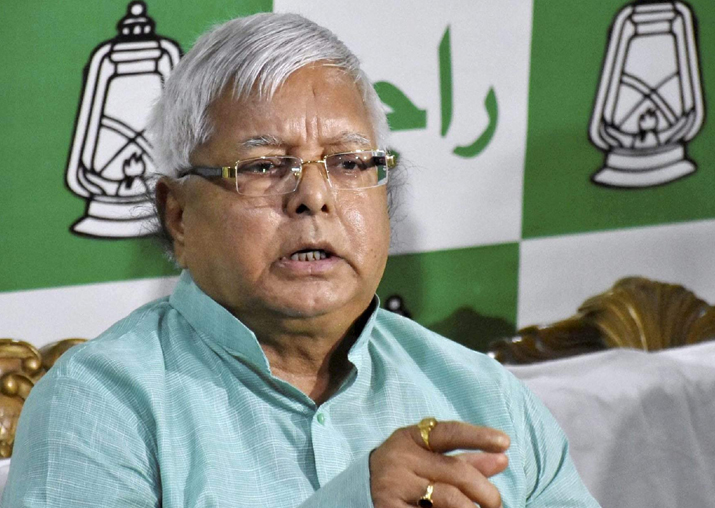 File pic of Lalu Prasad Yadav