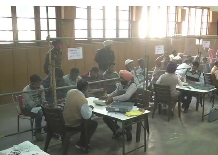 Counting of votes for Ludhiana Municipal Corporation is