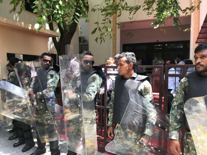 A State of Emergency has been declared in Maldives