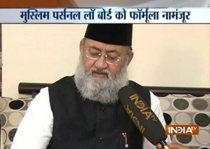 Ayodhya dispute: Suspended AIMPLB member Maulana Salman