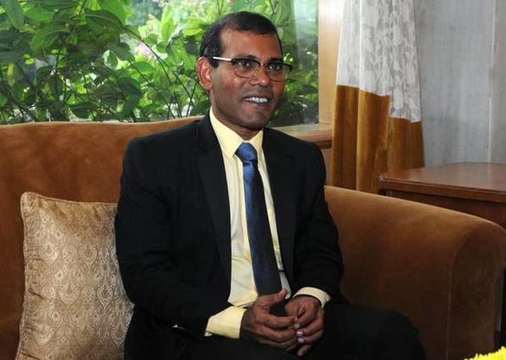 Maldives exiled ex-president Mohammed Nasheed says he'll