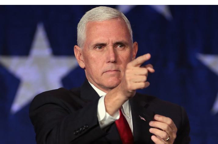 File pic - Vice President Mike Pence