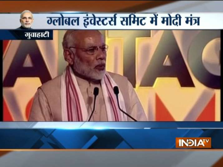 PM Modi addresses inaugural session of Global Investors