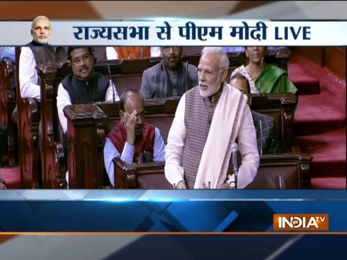 PM Modi's speech on Motion of Thanks to President's address