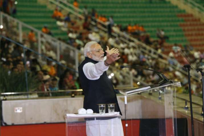 PM Modi addresses Indian diaspora in Oman